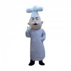 Baker Cook Mascot Costume