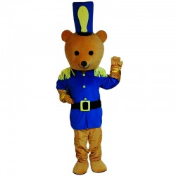Bear Police Mascot Costume