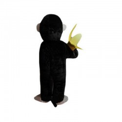 Chimpanzees And Banana Mascot Costume