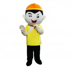 Chinese Boy Mascot Costume