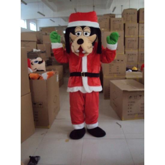 Christmas Goofy Dog Mascot Costume