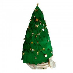 Christmas Tree Mascot Costume