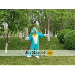 Blue Dragon Realistic Fursuit Animal Mascot Costumes