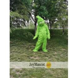Christmas Grinch Realistic Fursuit Mascot Costumes