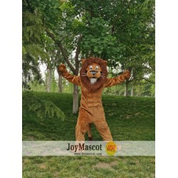 Lion Animal Realistic Fursuit Animal Mascot Costumes