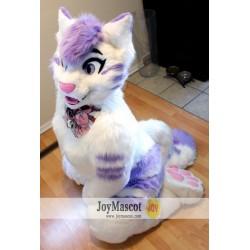 Cat Girl Realistic Fursuit Animal Mascot Costumes