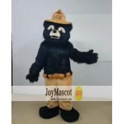 Black Bear Mascot Costume