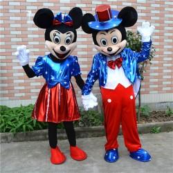 Disney Minnie & Mickey Mascot Costume for Adult