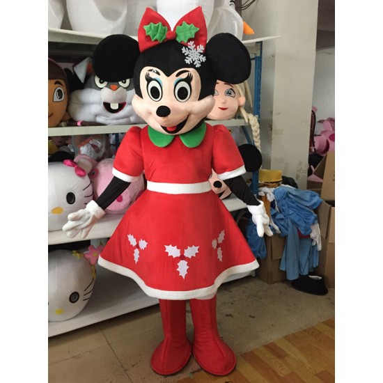 Disney Mickey & Minnie Mouse Mascot Costume for Adult