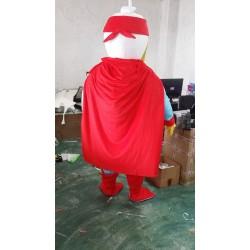 Disney Super Man Duck Mascot Costume for Adult