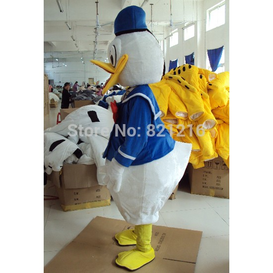 Disney Donald Daisy Duck Cartoon Mascot Costume for Adult