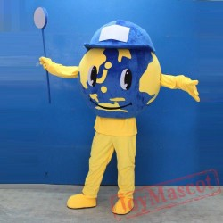 Adult Earth Mascot Costume