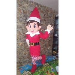 Elf On The Shelf Mascot Costume