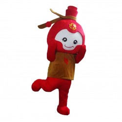 Firecrackers Dolls Mascot Costume