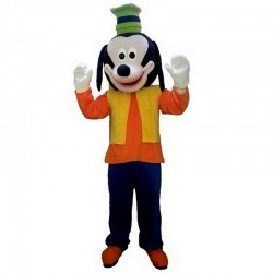 Goofy Dog Mascot Costume