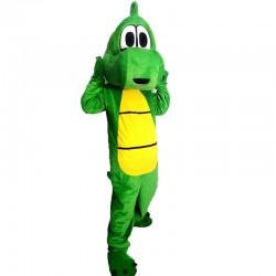 Green Dinosaurs Mascot Costume