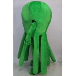 Green Octopus Mascot Costume