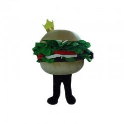 Hamburger Mascot Costume