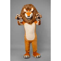 Adult Lion Mascot Costume