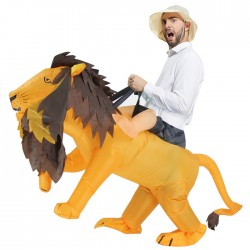 Lion & Tiger Mascot Costume For Adult Inflatable Costume