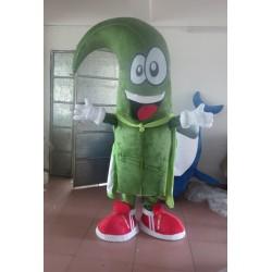 An Adult Cloak Of Green Men Mascot Costume