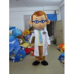 Adult Men Doctor Mascot Costume