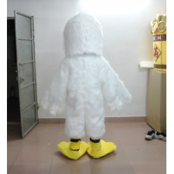 White Bird Mascot Costume