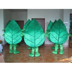 Green Tree Leaf Mascot Costumes