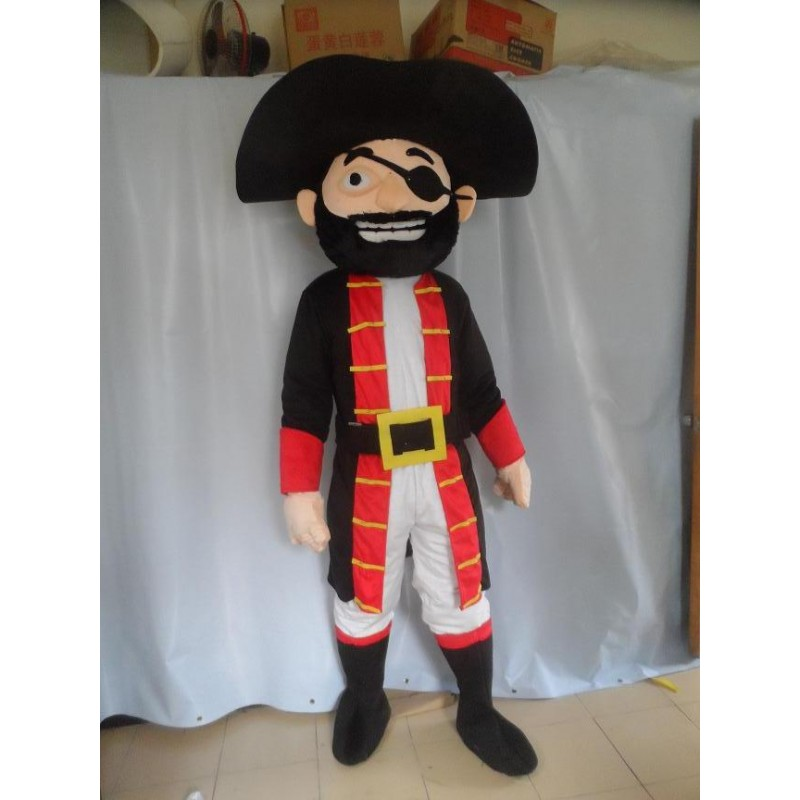 adult big beard pirate mascot costume halloween costumes