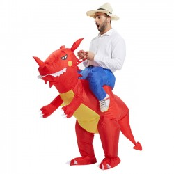 Inflatable Dinosaur Mascot Costume