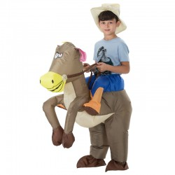 Animal Inflatable Cowboy Ride Horse Costumes