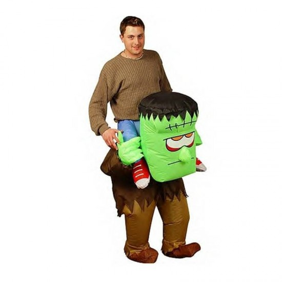 Adult Inflatable Horrible Ride On Frankenstein Monster Costumes