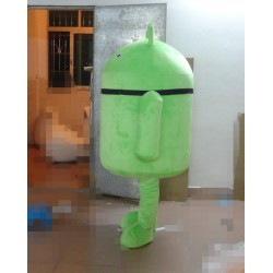 Adult Carton Android Doll Mascot Costume