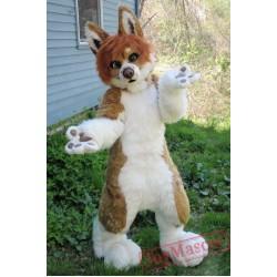 Dog Fursuit Mascot Costume