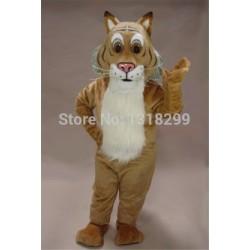 Fierce Bobcat Wildcat Mascot Costume