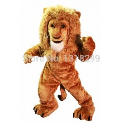 Savannah Lion King Mascot Costume