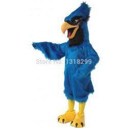 Blue Eagle Plush Mascot Costume
