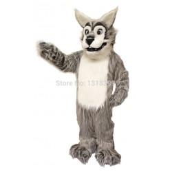 Leroy Wolf Mascot Costume