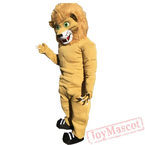 Animal Lion Mascot Costume for Adult & Kids