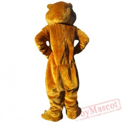 Animal Brown Bear Mascot Costume for Adult & Kids