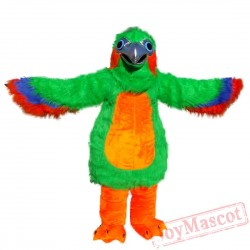 Animal Green Eagle Mascot Costume for Adult & Kids