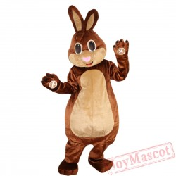 Animal Rabbit Mascot Costume for Adult & Kids
