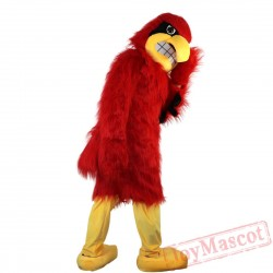 Animal Red Eagle Mascot Costume for Adult & Kids