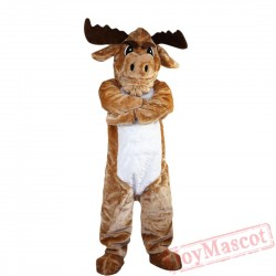 Animal Deer Mascot Costume for Adult & Kids