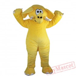Animal Elephant Mascot Costume for Adult & Kids