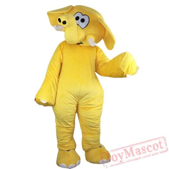 Animal Elephant Mascot Costume for Adult & Kids