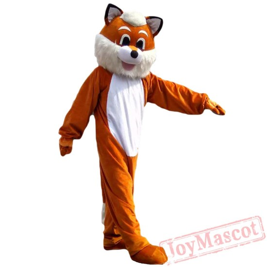 Animal Fox Mascot Costume for Adult & Kids