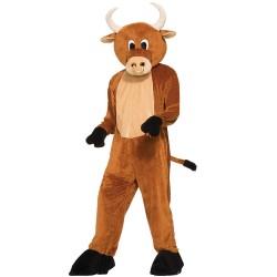 Brutus The Bull Plush Mascot Costume