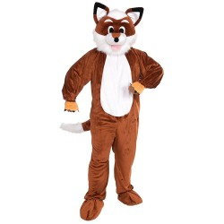 Promotional Fox Mascot Costume