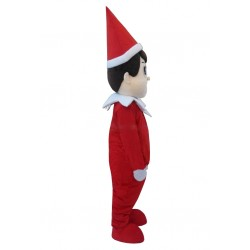 Christmas Elf On The Shelf Mascot Costume